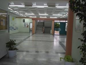 Η είσοδος του σχολείου μας