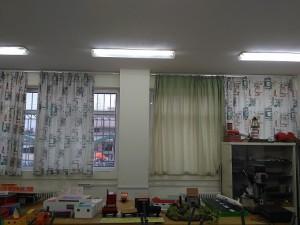 Το εργαστήριο τεχνολογίας γεμάτο όμορφες και προσεγμένες κατασκευές των μαθητών μας.