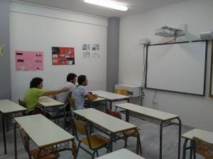 Μια απο τις αίθουσες  διδασκαλίας του σχολείου μας.