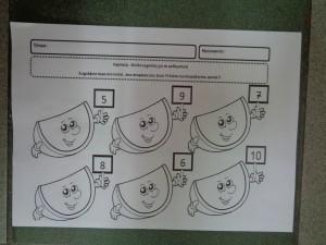 φύλλο εργασίας- μαθηματικά με καρπούζια