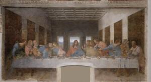 «ἀμὴν ἀμὴν λέγω ὑμῖν ὅτι εἷς ἐξ ὑμῶν παραδώσει με»  (Κατά Ιωάννην, κεφ.ΙΓ) Λεονάρντο ντα Βίντσι: Ο ΤΕΛΕΥΤΑΙΟΣ ΔΕΙΠΝΟΣ (Leonardo Da Vinci: LA ULTIMA CENA), 1495-98 Από τους διασημότερους πίνακες από τον μεγαλοφυή Λεονάρντο ντα Βίντσι. Βρίσκεται στην αίθουσα φαγητού του μοναστηριού Santa Maria della Grazie (Παναγία της Χάριτος) στο Μιλάνο. Αξίζει να προσέξουμε τα συναισθήματα στα πρόσωπα και τα σώματα των δώδεκα Αποστόλων.