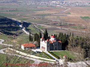 Ο τόπος Μαρτυρίου του Αγίου Σεραφείμ στο Φανάρι Καρδίτσας