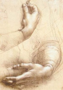Leonardo_da_Vinci_-_Study_of_hands_