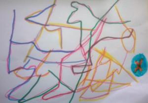 ο χάρτης που ζωγράφισε ένα παιδί με τον κρυμμένο θησαυρό
