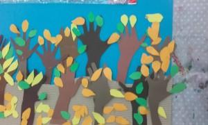 Φθινοπωρινό τοπίο από τους μαθητές της Β΄τάξης