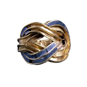 Χρυσό δαχτυλίδι 1.850-1.550 από τον Θησαυρό της Αίγινας
