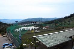πράσινο αθλητικό πάρκο
