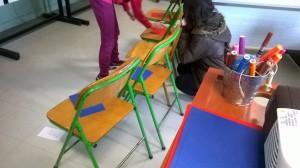 2η άσκηση με 5 καρέκλες