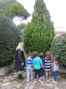 Ας εντοπίσουμε πρώτα το δέντρο... Χμ, ευτυχώς οι μαμάδες μαζί μας γιατί η Κηφισίας είναι πίσω μας...