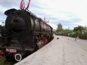 Το τρένο εξωτερικά...