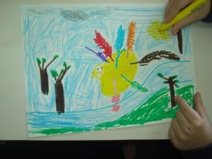 Το πουλάκι με τα 7 πολύχρωμα φτερά 011