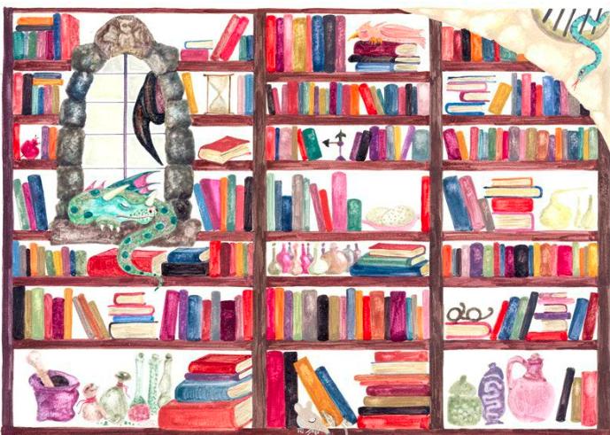 Η βιβλιοθήκη της μάγισσας Σουμουτού  .           Ψηφιακή ακουστική βιβλιοθήκη