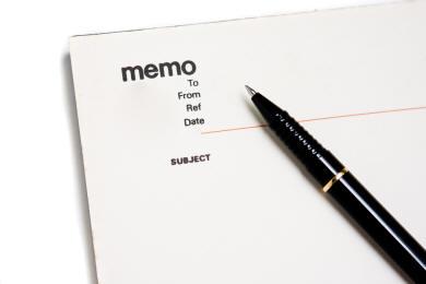Memo-Format