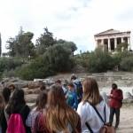 Προς το ναό του Ηφαίστου