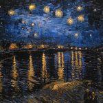 Έναστρη Νύχτα Πάνω από τον Ροδανό Ποταμό