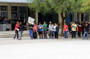 Μέρα σχολικού αθλητισμού ενάντια στη βία και το ρατσισμό