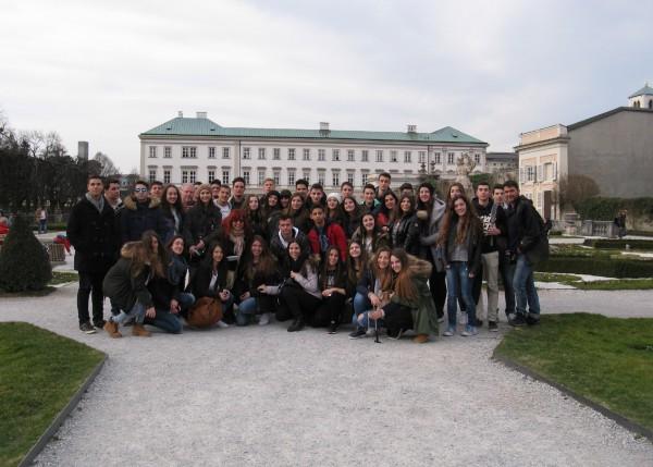 Salzburg (A) - Κήποι Mirabell - 17/3/2015