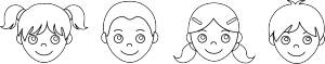 kids_faces_outline