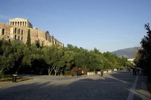 Around Acropolis - Dionisiou Areopagitou str., Athens, Greece