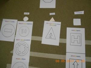 ταξινόμηση πινακίδων με βάση το σχήμα