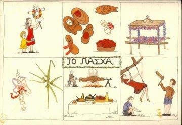 Έθιμα του Πάσχα- Μουσείο Μπενάκη