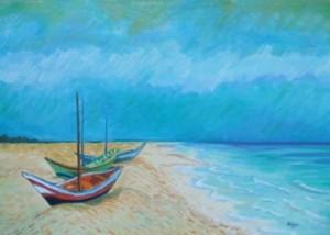 Spiaggia - Mariarosaria Bellone