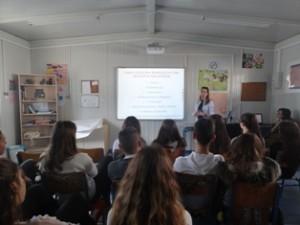 Η Ομάδα ενημερώνεται από την κ. Παλαιολόγου