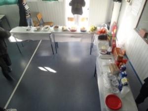 πρωινό που ετοίμασαν οι μαθητές τμήματος της Γ Γυμνασίου
