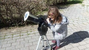 Παρατήρηση του ήλιου με τηλεσκόπιο