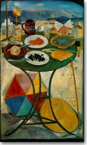 Βασιλείου Σπύρος . Το Τραπέζι της Καθαρής Δευτέρας, 1950