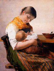 Η μητέρα στη ζωγραφική του Γ. Ιακωβίδη