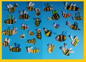 Η δική μας κυψέλη ... με τις εργατικές μέλισσες που πήραν την ευχή της μάνας τους ..απ' τον λαϊκό μύθο