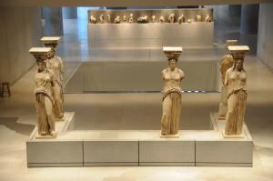 καρυατιδες στο μουσείο