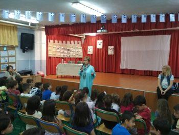 Επίσκεψη της δασκάλας-συγγραφέα Βασιλικής Νευροκοπλή