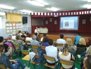 Ο δάσκαλος-συγγραφέας Ισίδωρος Ζουργός στο σχολείο μας