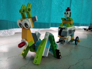 Άι Βασίλης και Ρούντολφ στη ρομποτική