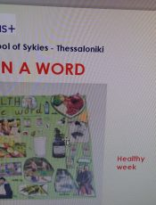 HEALTH IN A WORD! C2 CLASS