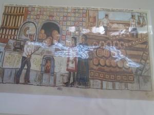 """Πίνακας ζωγραφικής του Θεόφιλου """" ΤΟ ΜΕΓΑ ΑΡΤΟΠΟΙΕΙΟΝ"""""""