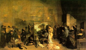 Courbet_The_Painters_Studio;_A_Real_Allegory_1855-