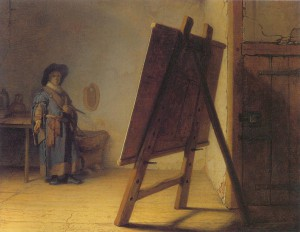 Ficheiro Rembrandt The Artist in his studio