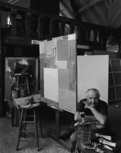 Hans Hofmann, Provincetown, MA, 1952. By Arnold Newman.