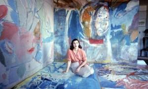 Helen Frankenthaler in 1956