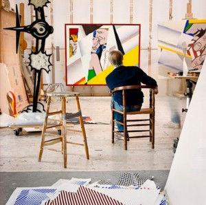 Roy-Lichtenstein's-studio-–-Southhampton-New-York-2