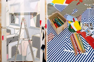 Roy-Lichtenstein's-studio-–-Southhampton-New-York