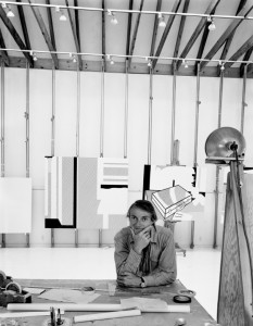 Roy Lichtenstein, South Hampton, NY, 1976. By Arnold Newman.
