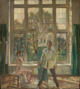 Sir William Orpen Summer Afternoon (Artist in his Studio with a Model)