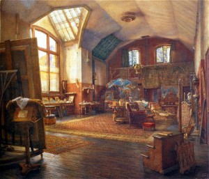 Thomas Rooke, The Studio, Little Holland House