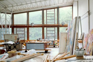 Willem-de-Kooning's-studio-–-East-Hampton-New-York-2