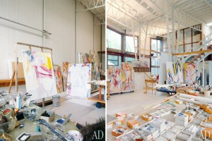 Willem-de-Kooning's-studio-–-East-Hampton-New-York