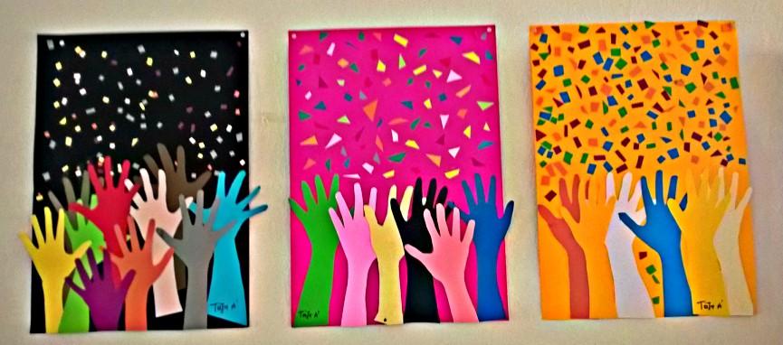 Θεματική εβδομάδα-Ανθρώπινα δικαιώματα - αφισα 2-3-4
